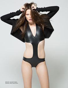 All Black Everything, Spoiler, Couture, Rave, Fashion Photography, Impression, Swimwear, Magazine, Boutique