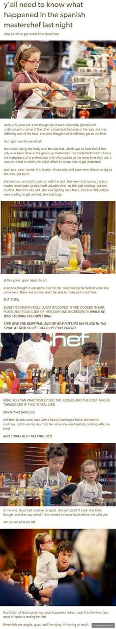 """Ya""""ll Need To Know What Happened In The Spanish Masterchef Last Night... - This Is Work Research"""