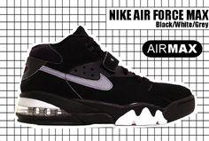 Black Running Shoes, Running Shoes Nike, Vintage Nike, Vintage Shoes, Charles Barkley Sneakers, Nike Air Force Max, Baskets, Kicks Shoes, Max Black