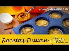 Magdalenas Dukan: Muffins de Calabaza y Salvado (Crucero) – Recetas Dukan Maria Martinez