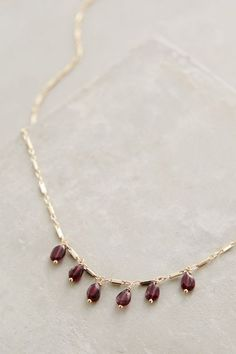 Perennial Necklace #anthroregistry