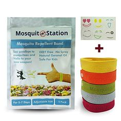 beneficial pest control insects natural mosquito repellent bracelets 6 colorful repellent patches colorful wristbandsdeet freesafe - Pest Control Products