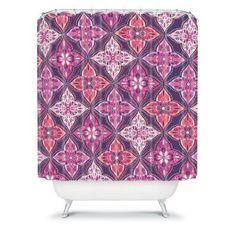 DENY Designs Khristian A Howell Provencal 5 Lavender Shower Curtain - 13028-SHOCUR