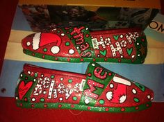Christmas Toms by Karen Laughlin