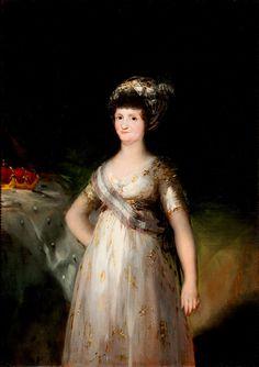 Retrato de Maria Luisa de Parma | Museo Goya - Colec. Ibercaja