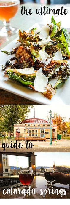 This is the ultimate guide to Colorado Springs' food scene – restaurants, bars, and breweries! List also includes recommendations for nearby recreation, hikes, sight-seeing, and shopping.