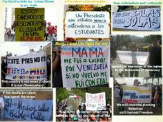 venezuela protestos,  el que se cansa pierde
