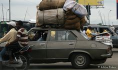 """Never say, """"can't be done"""" in Africa! West Africa, Places, Car, Shopping, Warehouses, Tents, Occult, Automobile, Lugares"""