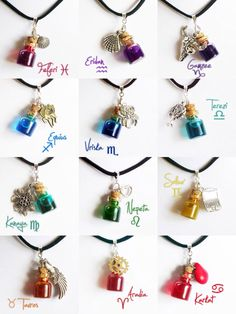 Homestuck troll necklaces