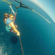 Parasailing adventure in #Hawaii