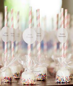 Featured Photographer: Procopio Photography; Wedding favor idea