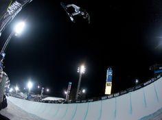 Shaun White being Shaun White. PHOTO: Aaron Blatt | Get Ready for the 2013 Winter X Games: Superpipe | TransWorld SNOWboarding