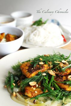 Chả Cá Thăng Long (Vietnamese Style Fish with Turmeric & Dill) by ...