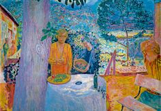"Pierrre Bonnard ""Décor à Vernon"" on Fondation Beyeler"