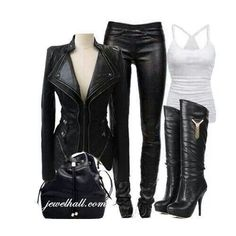 Leather, leather & more leather
