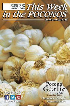 September 3, 2016 Cover Photo: Pocono Garlic Festival at Shawnee Mountain
