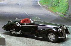 1938 Alfa Romeo 8C2900B, Touring Berlinetta Chassis Model