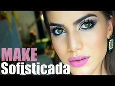 Maquiagem sofisticada usando Natura Una! - YouTube