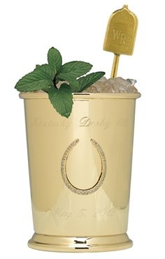 The $1000 mint julep! All for a good cause, but out of my price range!  Kentucky Derby