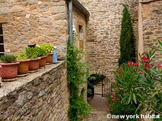 There's always an echo of medieval life in French #Provence. See more: http://www.nyhabitat.com/south-france-apartment/vacation/950
