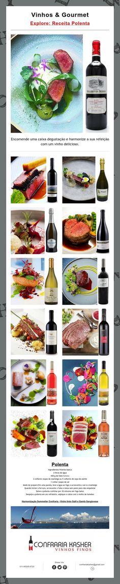 Vinhos & Gourmet Receita Polenta