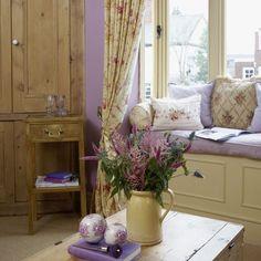 Wohnzimmer mit schönen Fensterplatz Wohnideen Living Ideas Interiors Decoration