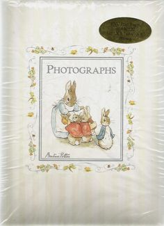 Beatrix Potter My First Fotos Photo Album - Photographs by CR. Gibson Holds 120  #CRGibson