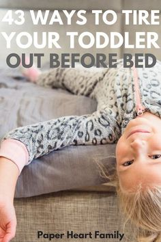 Need your toddler to go to bed early tonight so that you can have a little peace and quiet? These active toddler activities are perfect for tiring your toddler out. Especially useful if your toddler still needs a nap but then doesn't want to go to sleep at night. My toddler always sleeps better after we do these activities! #parenting #kids #activities