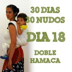 """Search for """"día Double Hammock, Baby Wearing, 18th, Baby Carriers, Search, Kangaroos, Hammocks, Doubles Facts, Knots"""