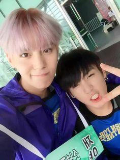 150810 ISAC : Jeon Jungkook & Suwoong (Boys Republic)