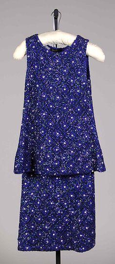 Evening dress Designer: Laura Aponte (Italian) Date: ca. 1960 Culture: Italian Medium: Wool, sequins, beads