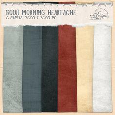 Good Morning Heartache paper pack by Eijaite.deviantart.com on @DeviantArt