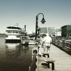 Cape Fear River. I love living within walking distance to all of these awesome places! <3