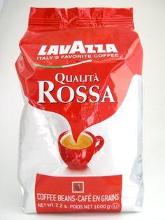 Lavazza Qualita Rossa, Italian Coffee Beans Expresso, 2.2 pound - http://www.freeshippingcoffee.com/brands/lavazza/lavazza-qualita-rossa-italian-coffee-beans-expresso-2-2-pound/ - #Lavazza