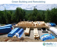 This is a guide about green building and remodeling. Green building and remodeling may seem out of your price range, but in fact there are ways to incorporate green into your project and not break the bank.