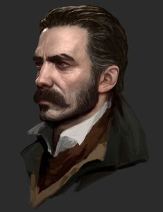 Galahad's Face from The Order: 1886