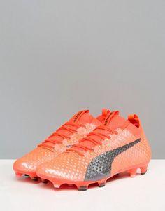 21464da88e4 Puma evoPOWER Vigor 3D 1 Firm Ground Soccer Boots In Orange 10399903 -