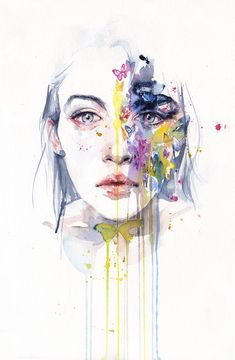 Miss bow tie by agnes-cecile.deviantart.com on @deviantART