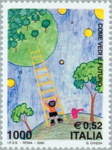 Children Stamp Drawing Contest Stamp Drawing, Postage Stamps, Kids Rugs, Children, Drawings, Terra, Europe, Vintage, Italia