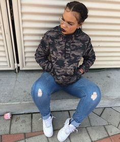 Best Cute Outfits For School Part 21 Chill Outfits, Dope Outfits, Casual Outfits, Teen Fashion, Fashion Outfits, Womens Fashion, Fasion, Fashion Ideas, Pull Rose