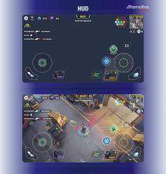 King Hardcore - UX & UI design on Behance Ui Ux Design, Game Ui Design, Shape Design, Box Design, Graphic Design, Senior Games, Up Animation, Net Games, 2d Game Art