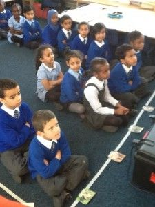 Using the children as a human bar chart was an amazing way to help the children understand the word problem 'How many more?' as they could use each other as a physical frame of reference.