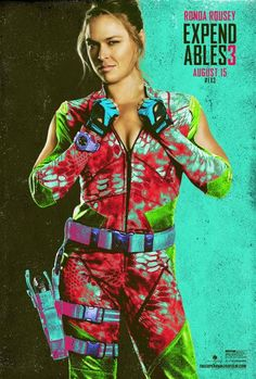 Due in theaters next month, Expendables starring UFC bantamweight champion Ronda Rousey is one of MMA's most anticipated film related projects. Ronda Rousey Wwe, Ronda Jean Rousey, Kellan Lutz, Jason Statham, Mel Gibson, Harrison Ford, Sylvester Stallone, Arnold Schwarzenegger, The Expendables Cast