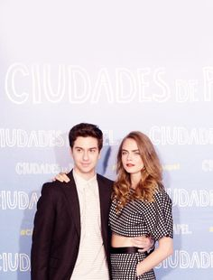 Nat Wolff  and Cara Delevingne at paper towns Event