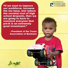Chambers of commerce, economists, and state legislators all agree: early education is a good investment.