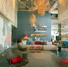Hotel W Retreat U0026 Spa, On Vieques Island Patricia Urquiola, Contemporary Interior  Design,