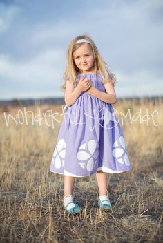 Sofia the First Dress up Dress/Costume by wonderfullymade139, $55.00