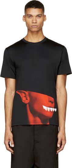 Katie Eary - Black Psycho Teeth T-Shirt