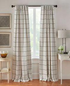 Elrene - Farmhouse Curtains, Farmhouse Windows, Farmhouse Curtain Rods, French Country Curtains, Rod Pocket Curtains, Panel Curtains, Curtain Panels, Tall Window Curtains, Plaid Curtains