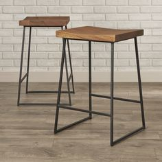 """You'll love the Fullerton 24"""" Bar Stool at AllModern - With Great Deals on modern Dining & Kitchen  products and Free Shipping on most stuff, even the big stuff."""